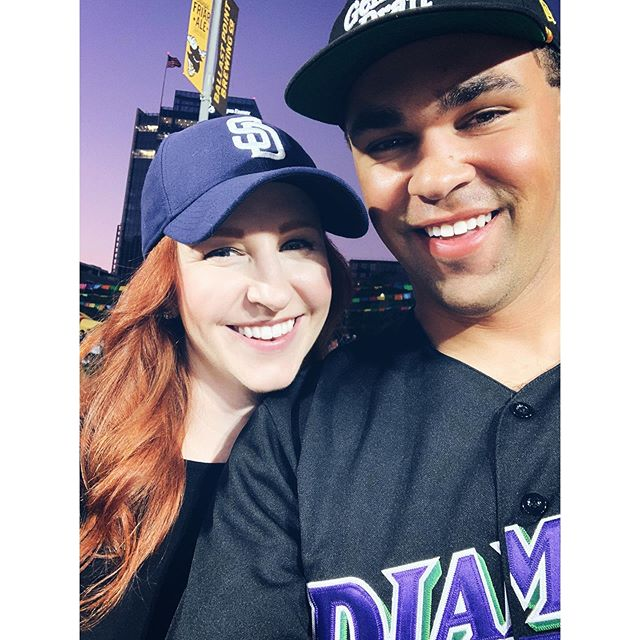 Last Friday night home game spent with this guy makes for a pretty great Friday night ⚾️