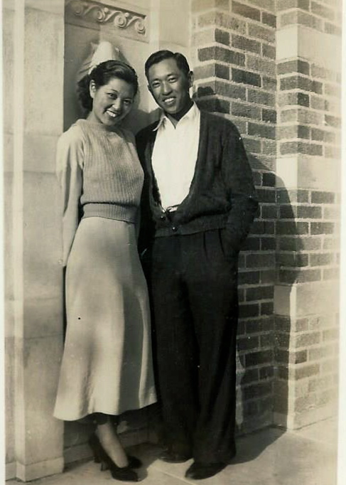 Helen and Izzy Otani in 1936 (the year they were married)