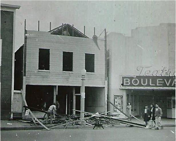 Rebuilding in 1948