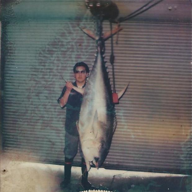 Steve Otani with a Tuna