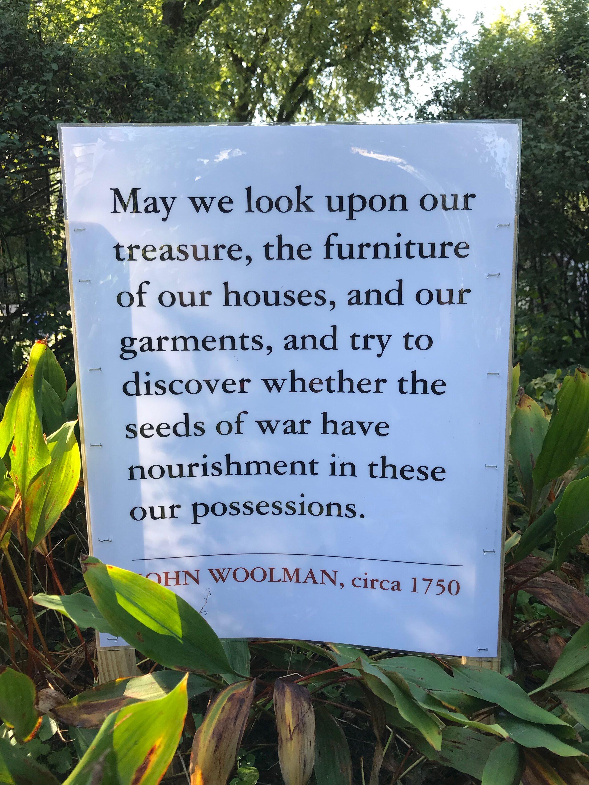 John Woolman quote