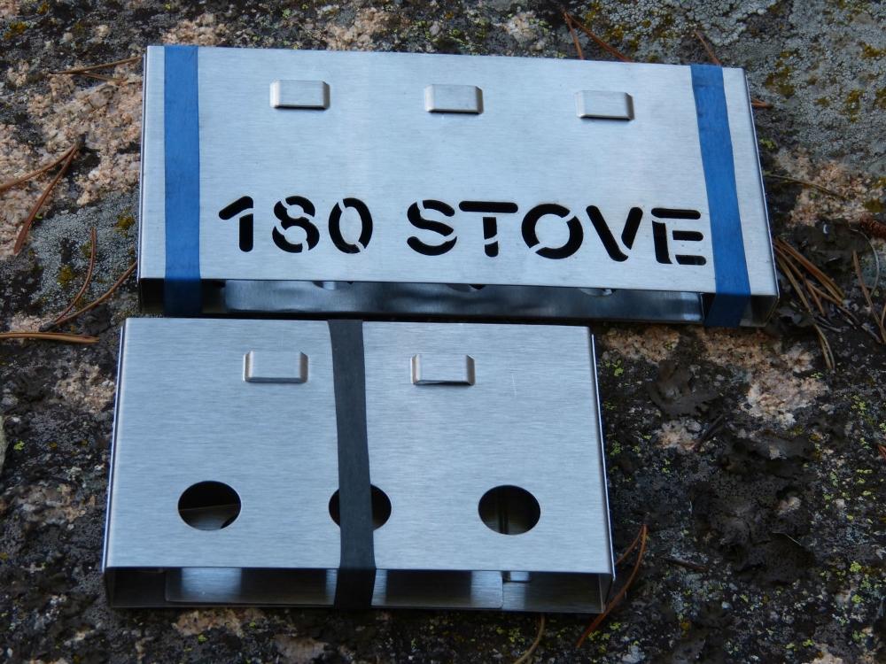 180 STOVE & 180 Flame