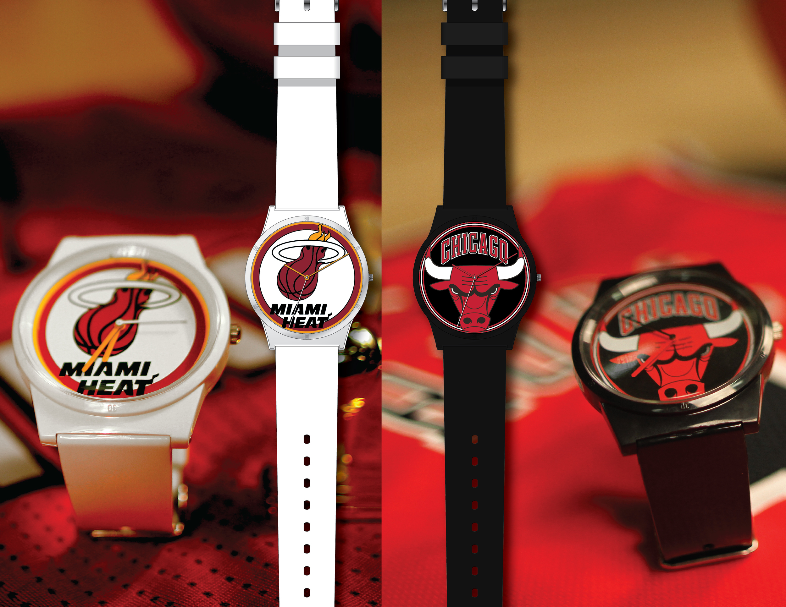 NBA (Miami Heat & Chicago Bulls)