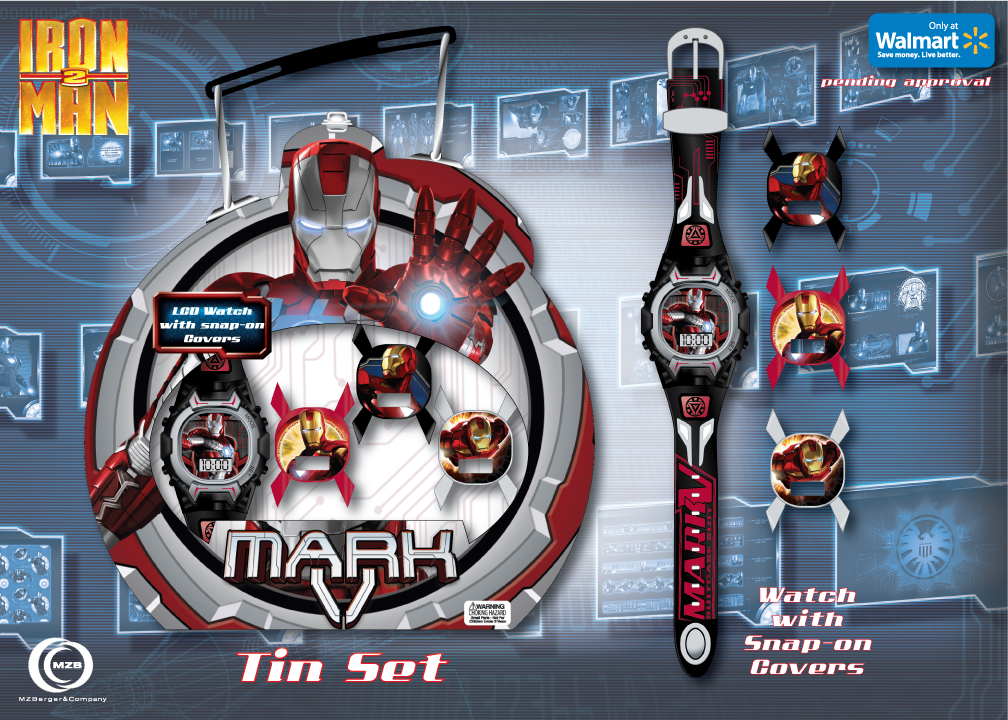 "Marvel's ""Iron Man 2"" Gift Set Board"