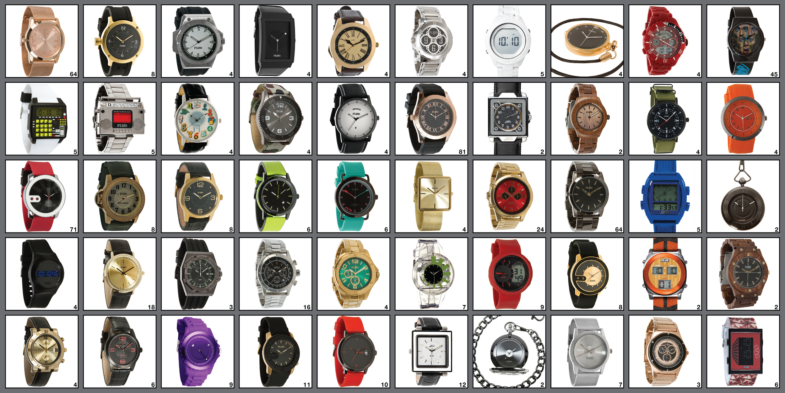 The Watch Wall