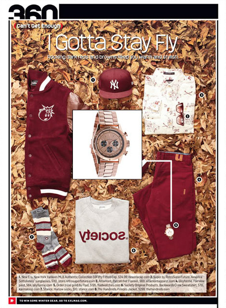 XXL Magazine - Holiday 2012