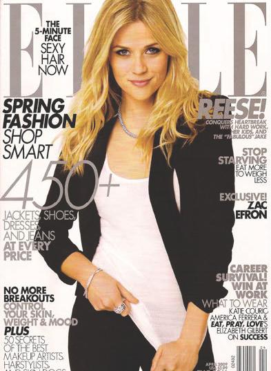 Elle Magazine - April 2009