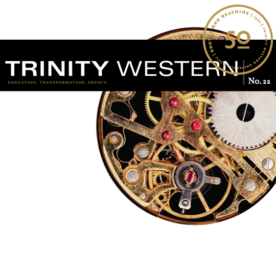 Trinity Western   magazine - Managing Editor and, later, External Editor, for TWU's triannual fundraising magazine. (2004–2013)
