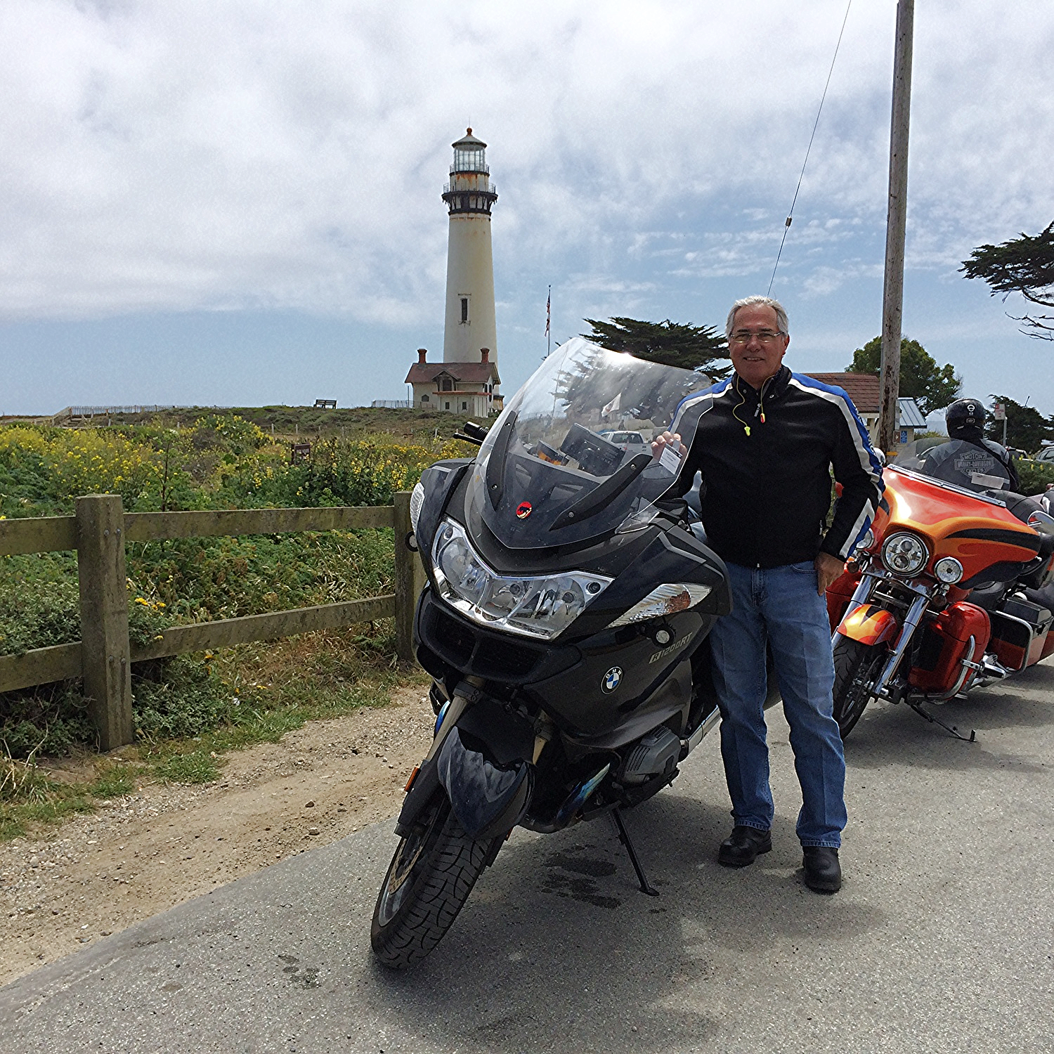 Here I am along Pacific Coast Highway No. 1