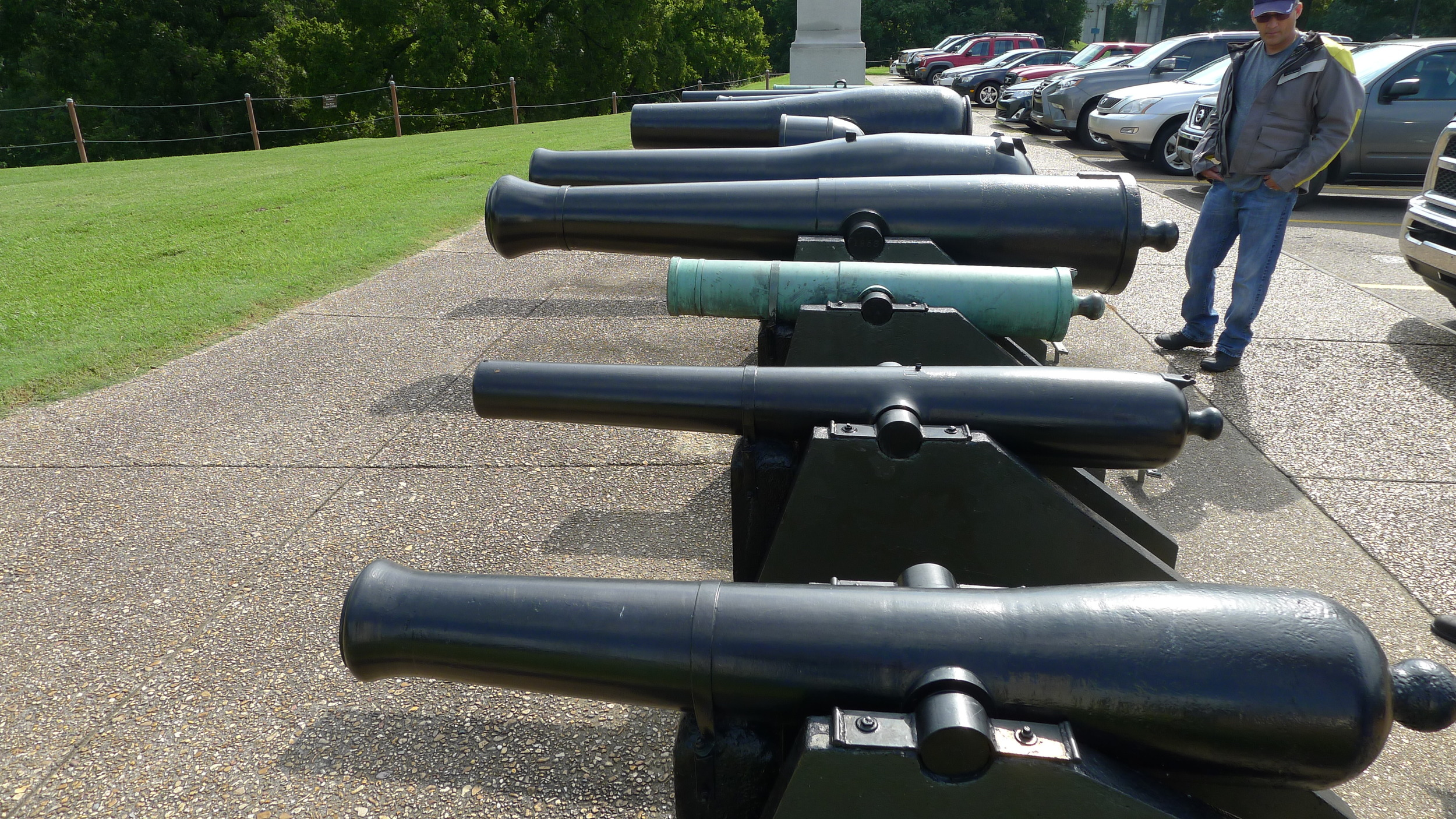 Civil War Cannons.