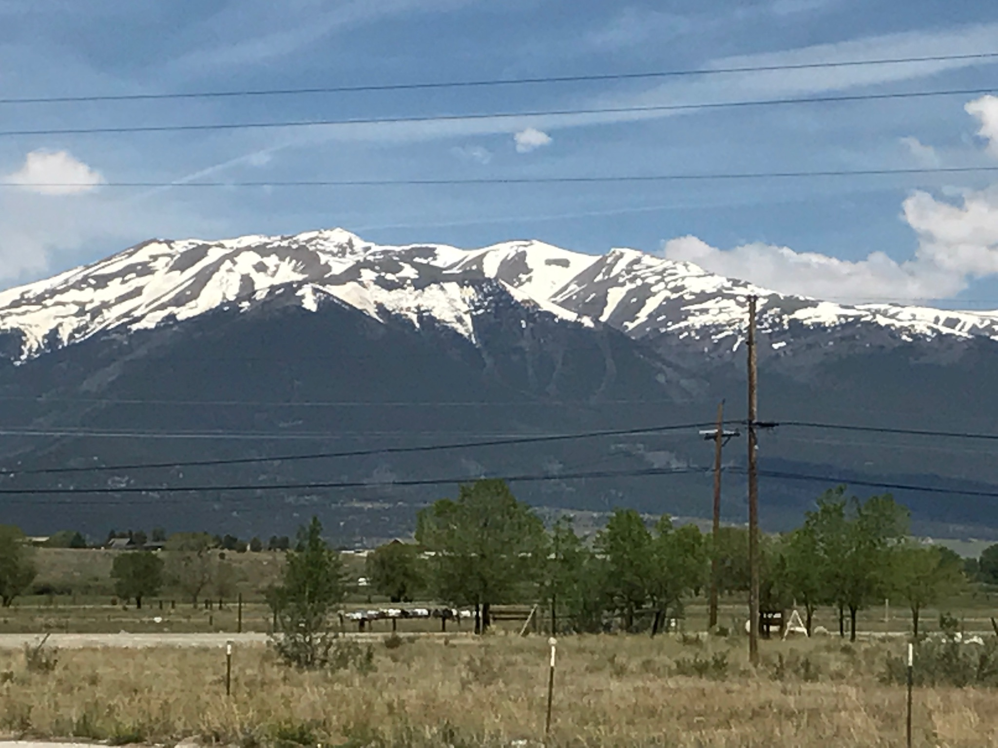 Riding to Fairplay, CO