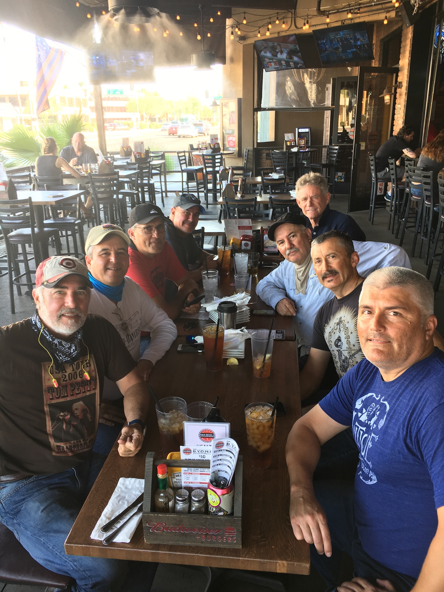 Lunch in Phoenix - Coming off 112 degrees!