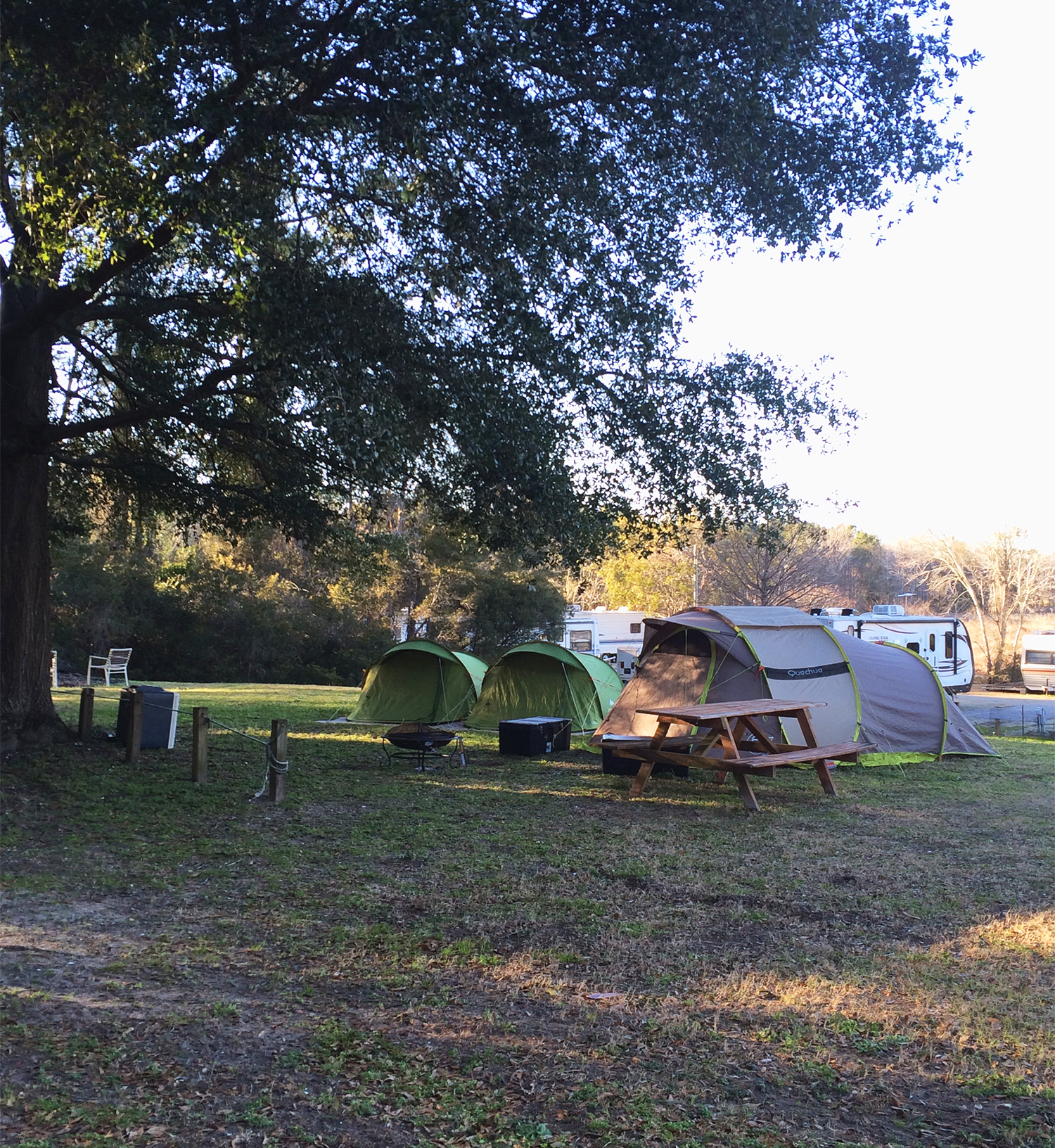 Tenting, Playground and Rec Area
