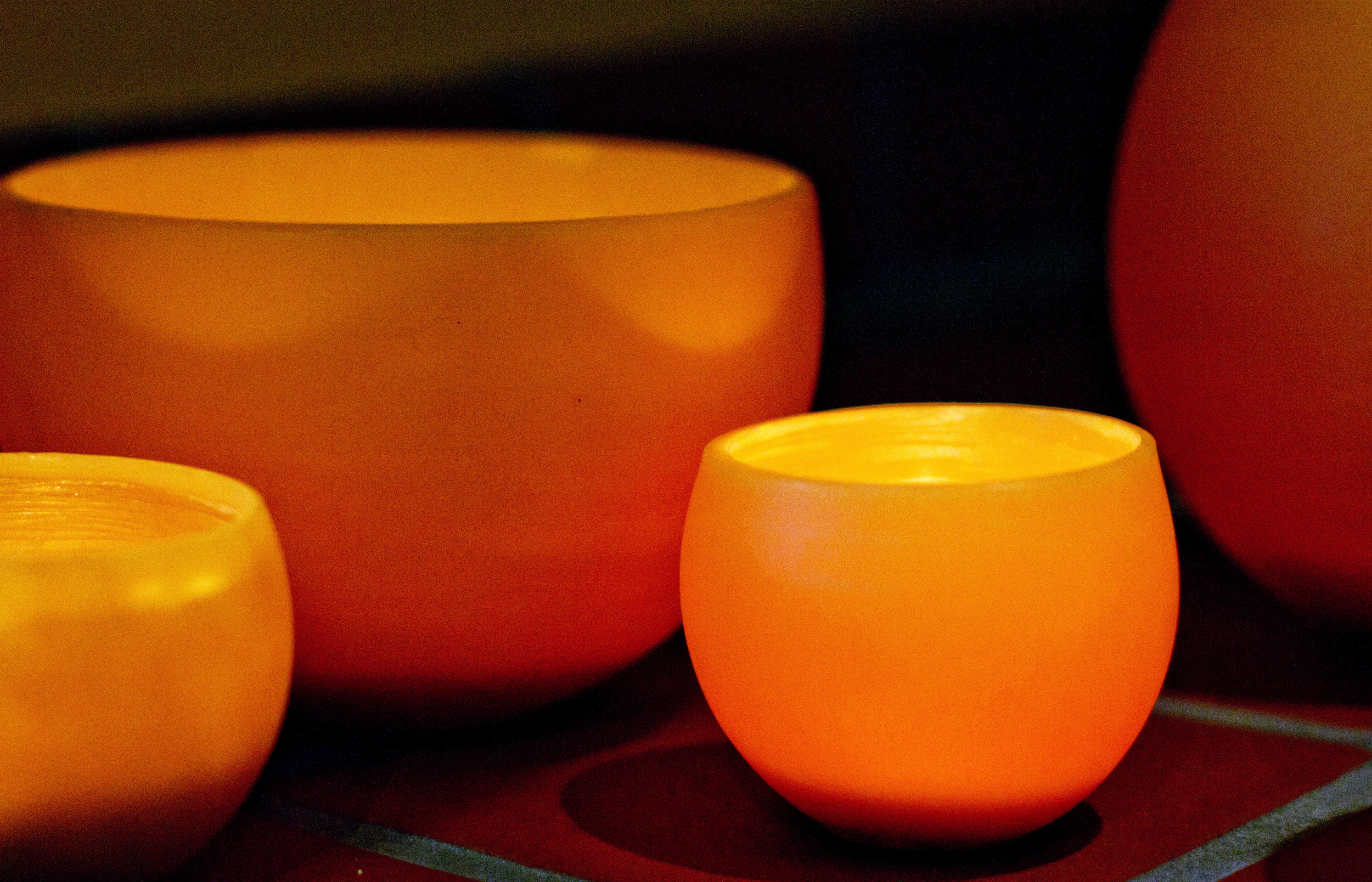 Beeswax Luminaries