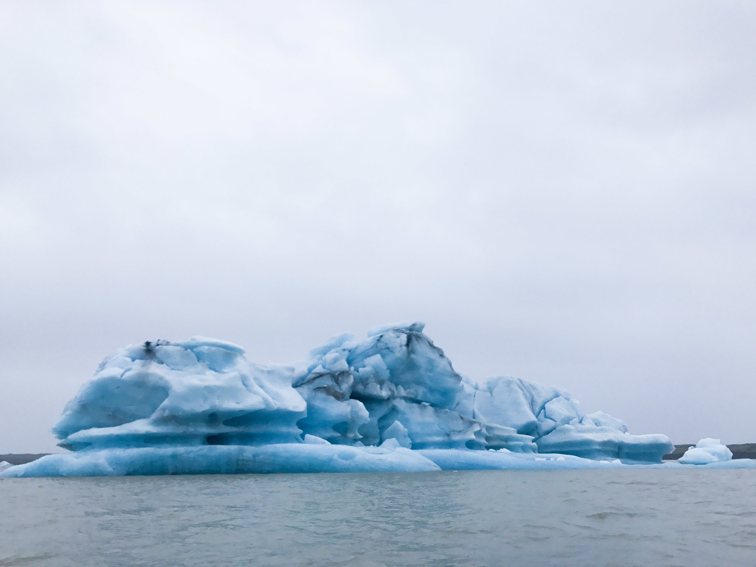 Jökulsarlon Ice Lagoon—where the White Walkers live.