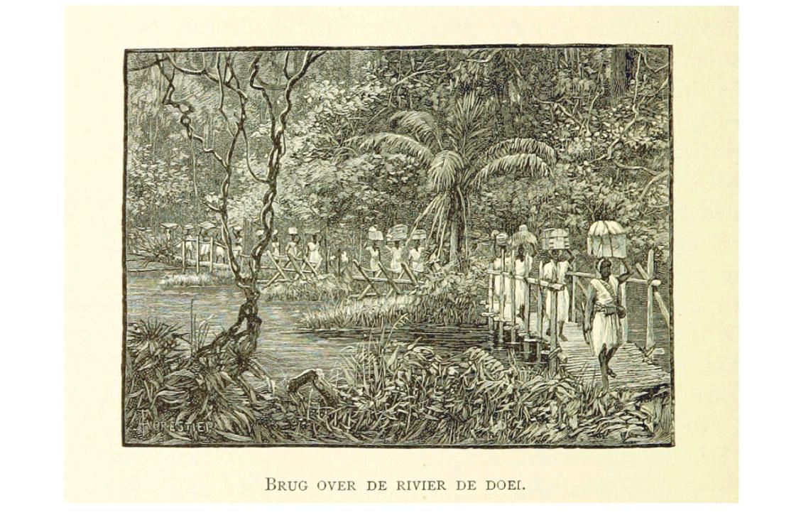 Image taken from 'Stanley in Afrika's donkere wildernissen, etc.' Author: Henry Morton Stanley - Sir, G.C.B. 1890