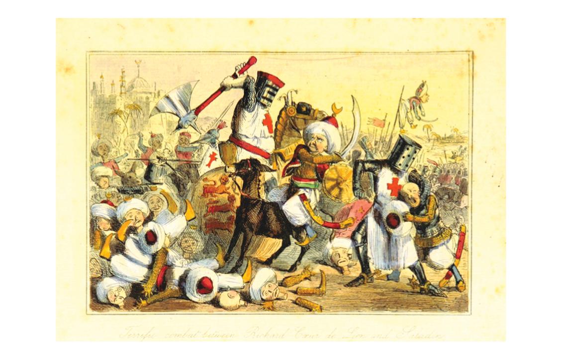 Image taken from 'The Comic History of England'. Author: Gilbert Abbott A'Beckett. 1897