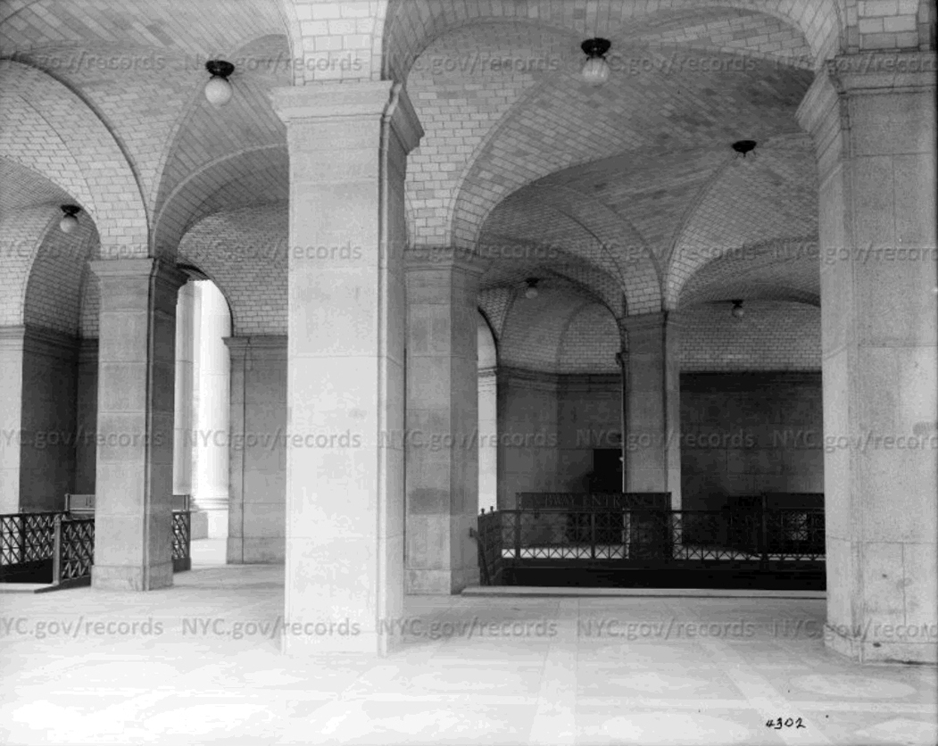Eugene de Salignac, Subway Entrance, 1914