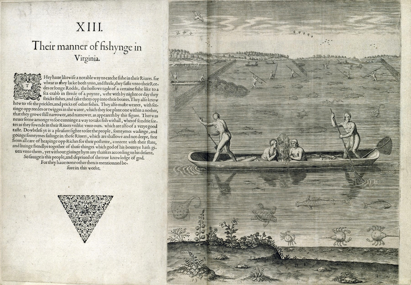 Thomas Hariot. A briefe and true report of the new found land of Virginia. Frankfurt, 1590.