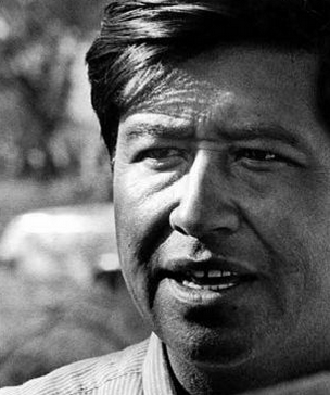 Cesar Chavez, 1966.