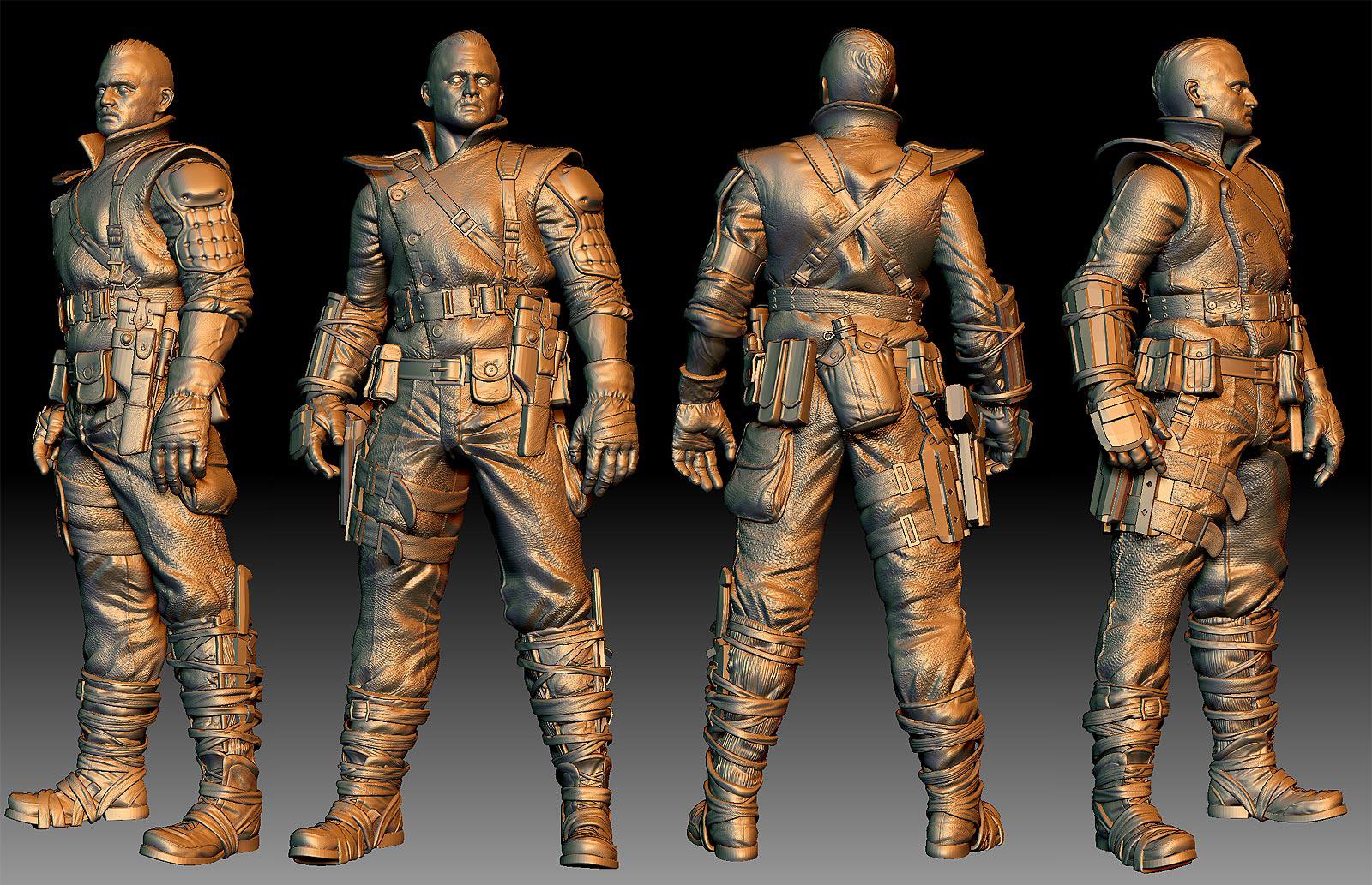 Soldier Sculpt Turns
