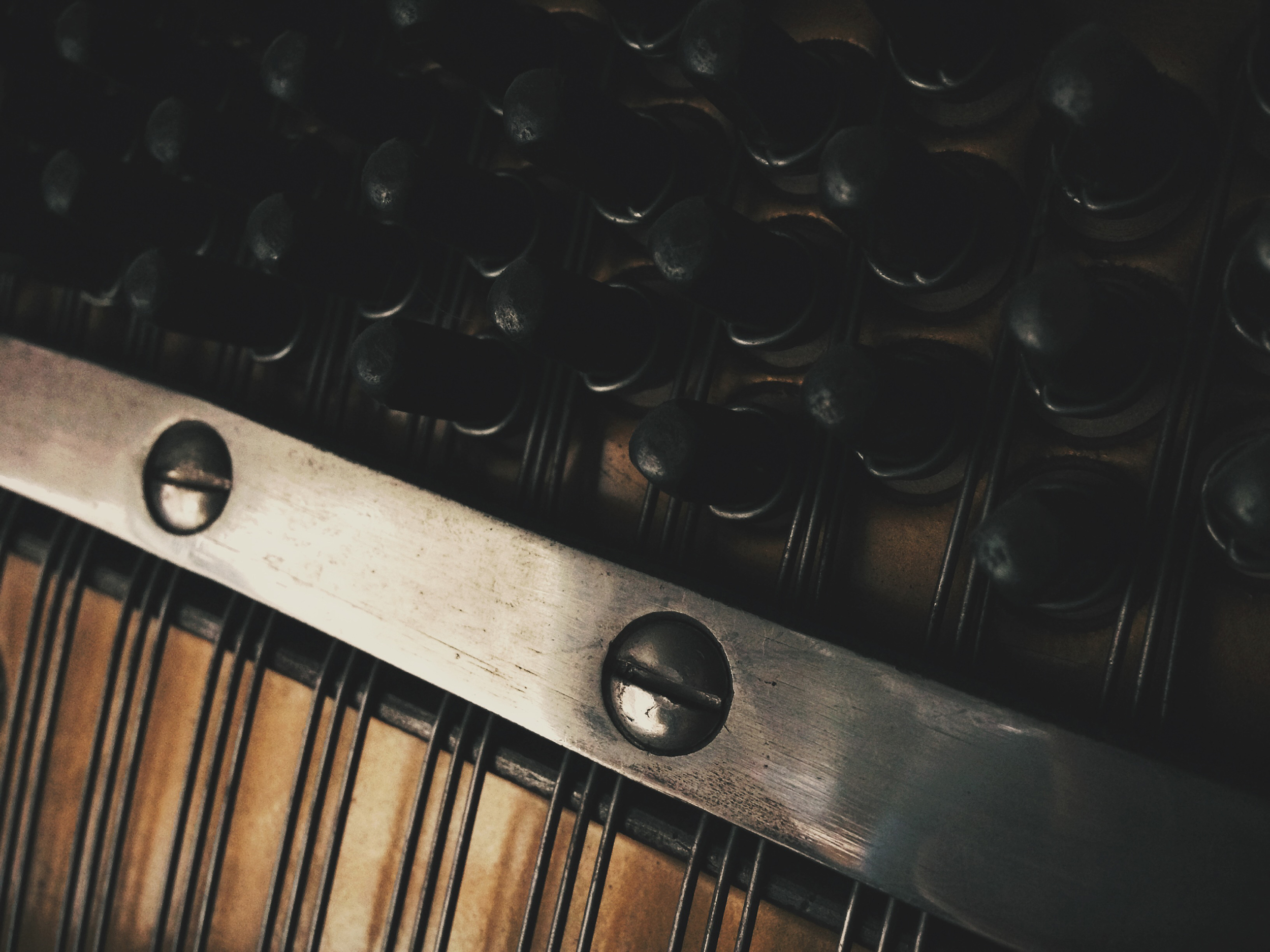 the inner workings of our piano