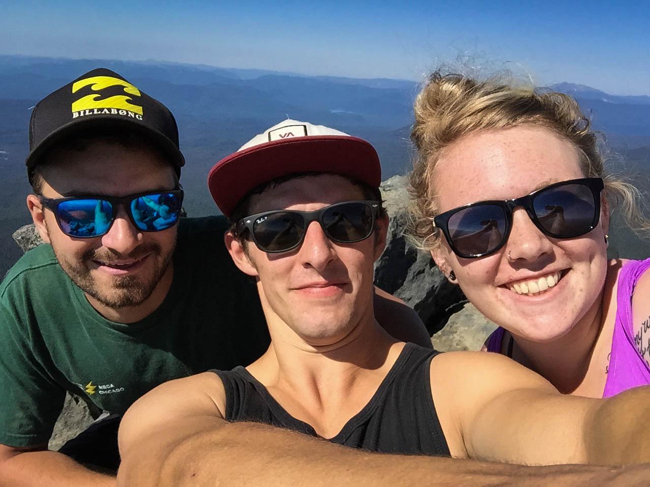 Shameless Summit Selfie!
