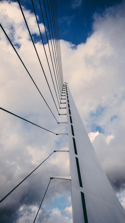 Sun Dial Bridge in Redding CA.