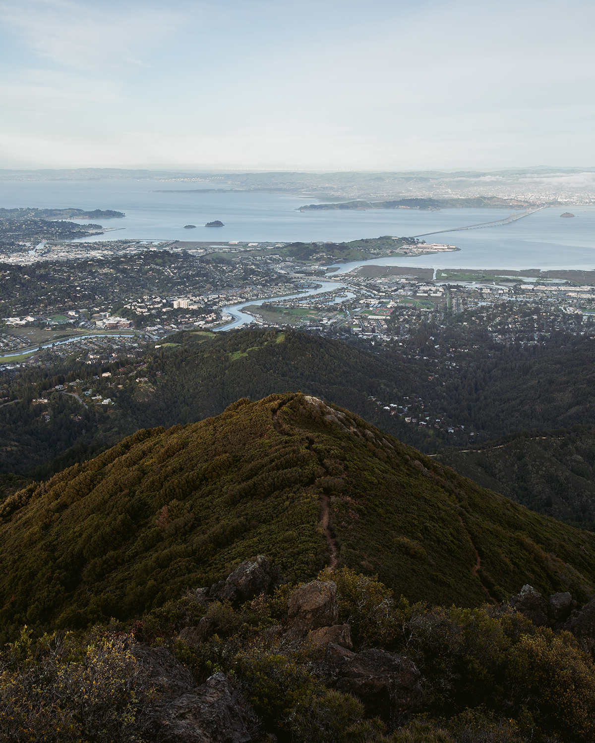 MT TAM - Some shots from up on MT Tam