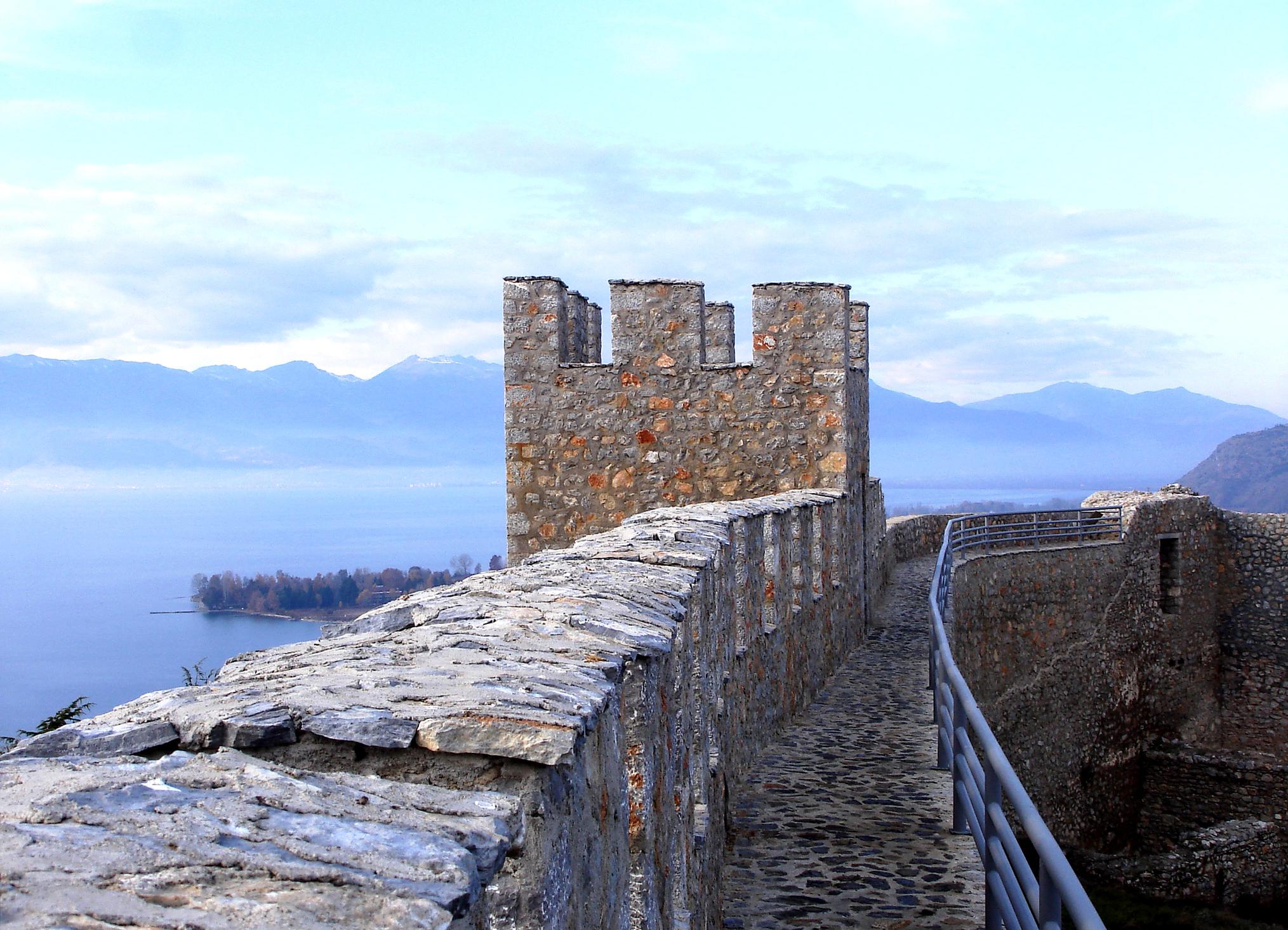 Burg Samoil, Ohrid (Mazedonien)