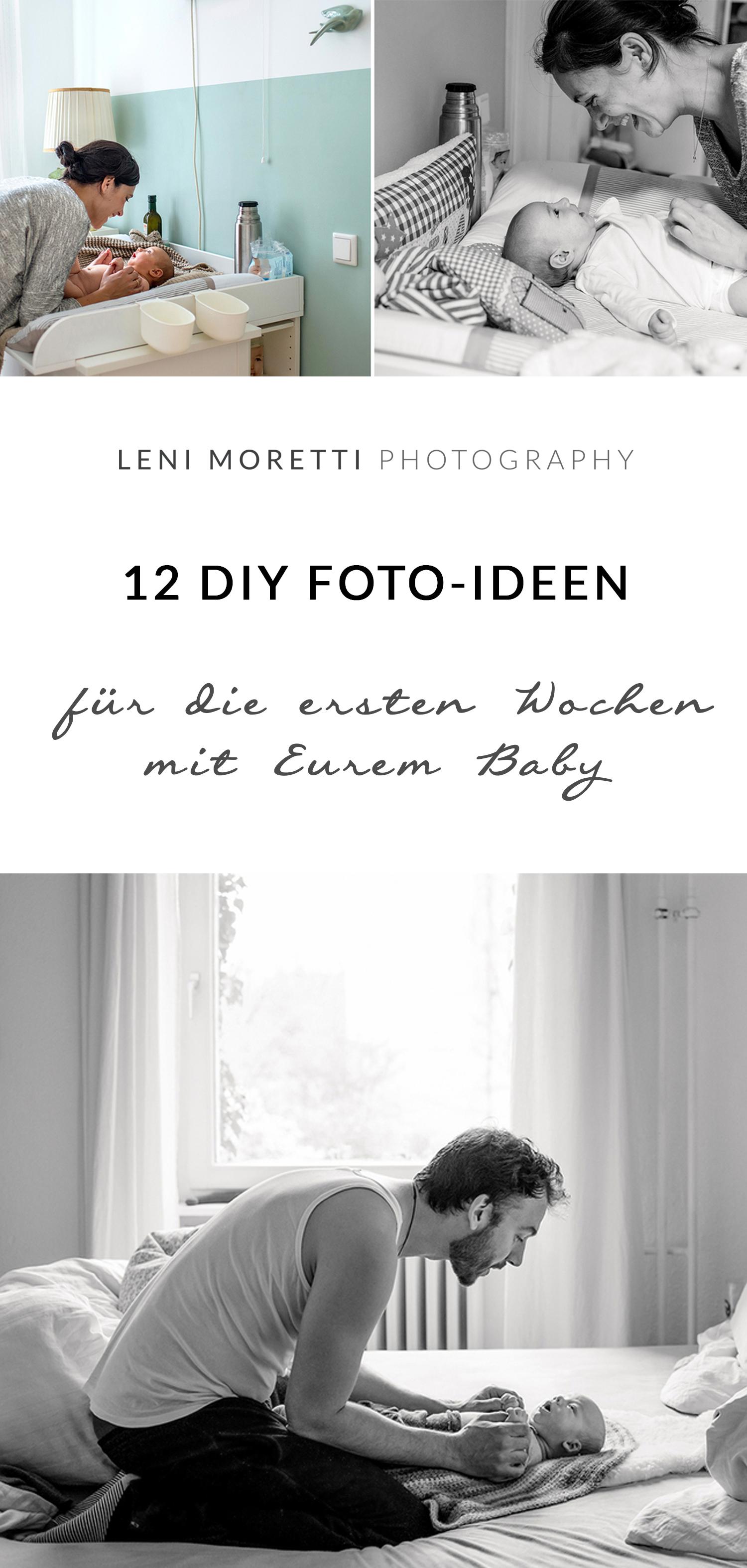 12 DIY-Baby-Foto-Ideen für die ersten Wochen. © lenimoretti.com
