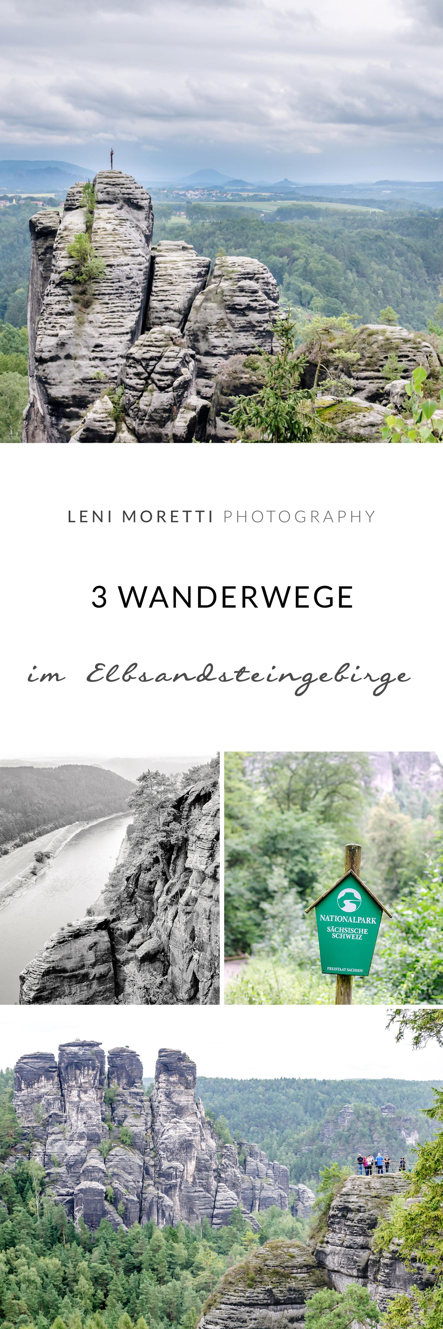3 traumhafte Wanderwege im Elbsandsteingebirge. Merke Dir diesen Artikel auf Pinterest!