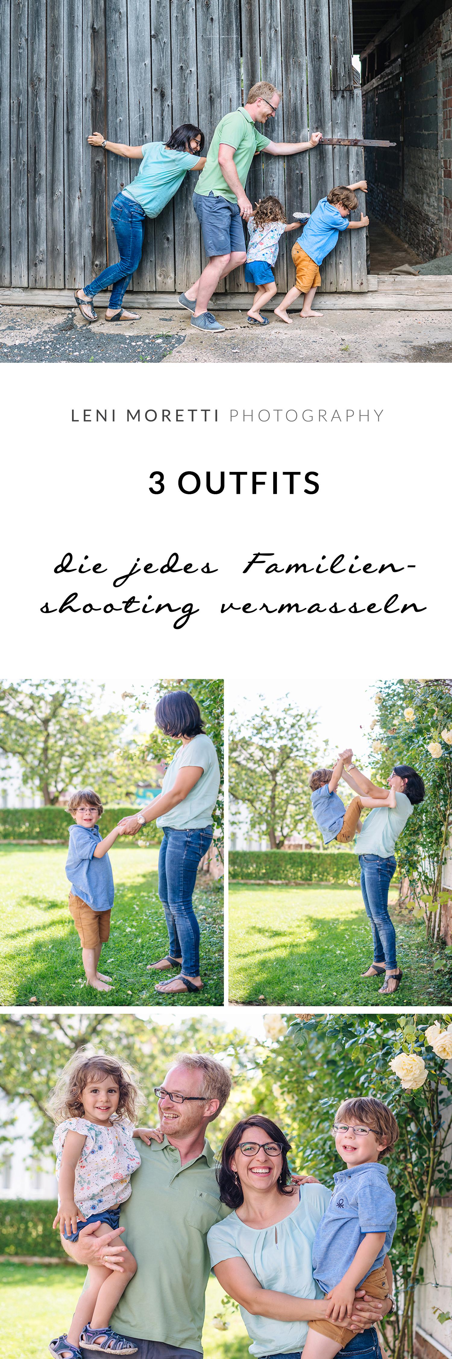 Und 5 Tipps für die Wahl Eurer Outfits für das Familienshooting! Merke Dir diesen Artikel auf Pinterest © lenimoretti.com.