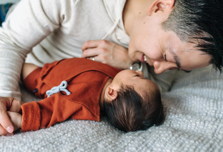 Vater-Kind-Fotografie