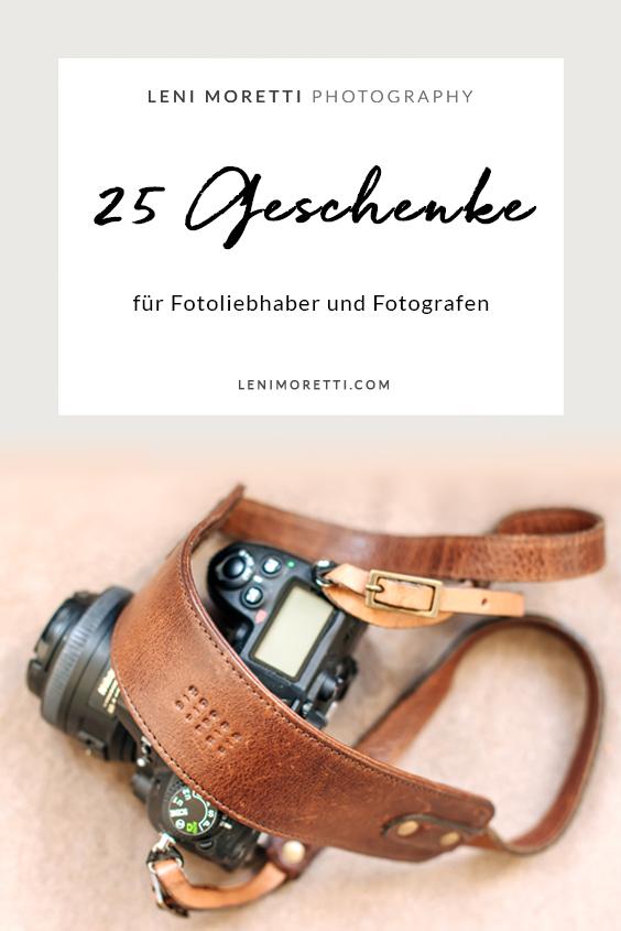 Merke Dir diesen Artikel auf Pinterest! 25 Geschenke für Fotografen © lenimoretti.com