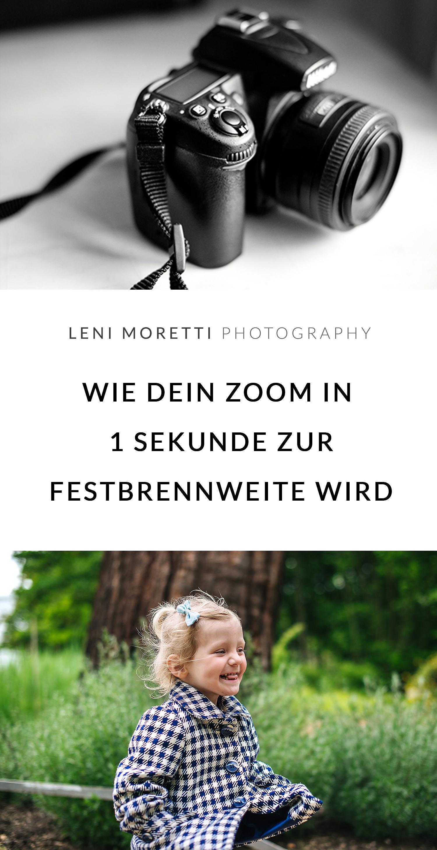 Vom Zoom-Objektiv zur Festbrennweite. © lenimoretti.com