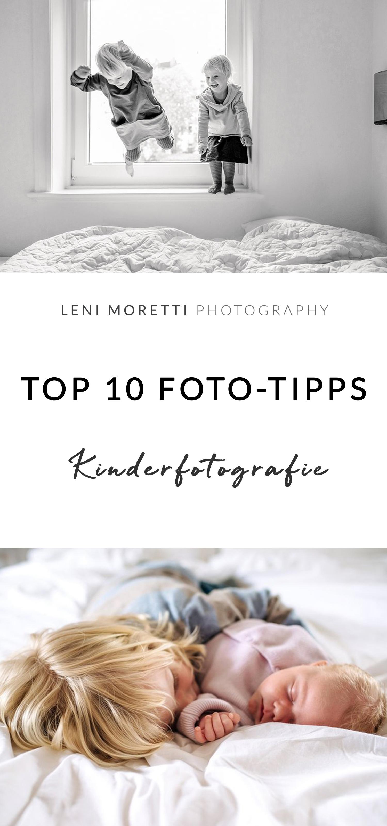 Viele Tipps und Ideen, wir Ihr Eure Babys und Kinder selber fotografiert! © lenimoretti.com