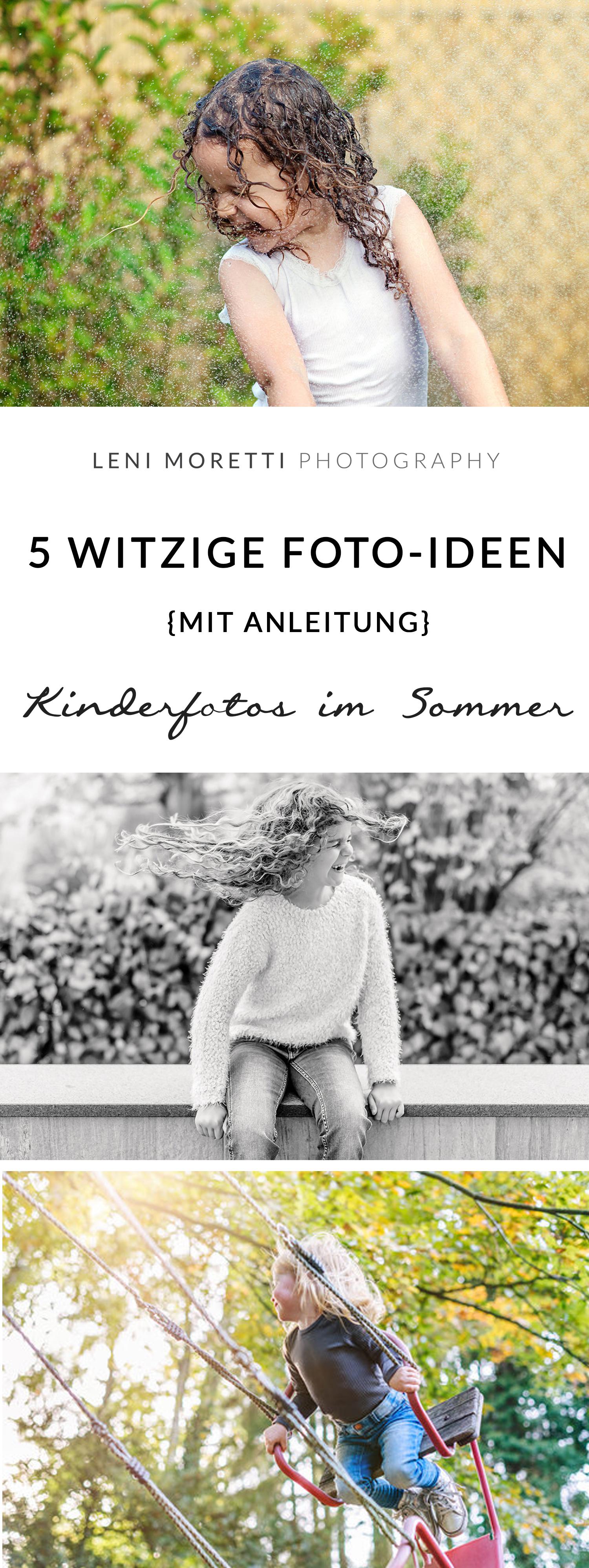 5 Ideen für Kinderfotos im Sommer! © lenimoretti.com