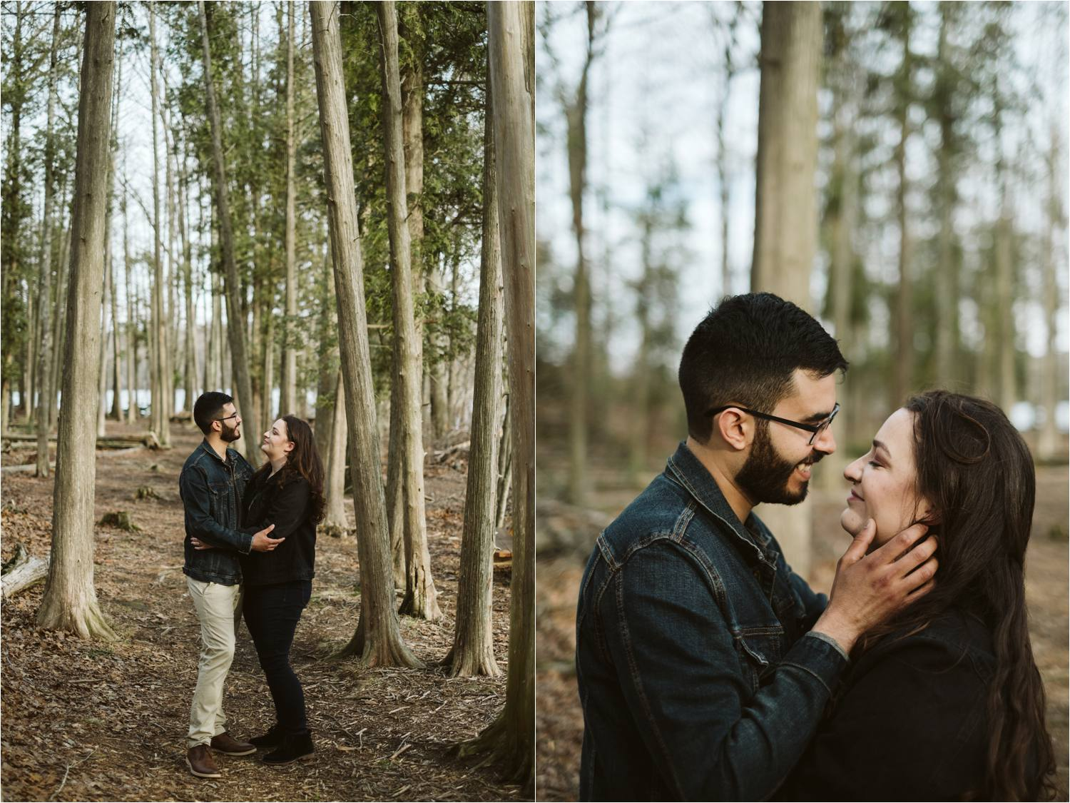 Hopkinton State Park Engagement Photos