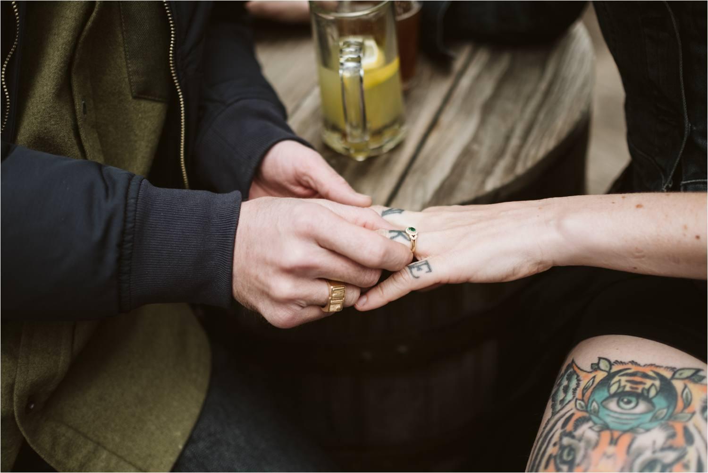 cambridge Boston engagement session - atwood tavern cambridge - jemima richards
