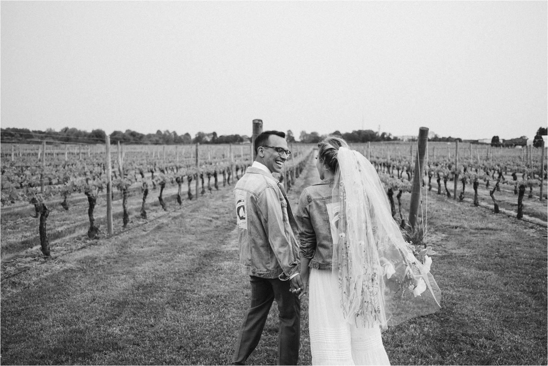 DIY Wedding - Newport Vineyards Wedding - Newport Rhode Island Wedding - Jemima Richards - Free People Bride - New England Wedding Photographer - Rhode Island Wedding Photographer