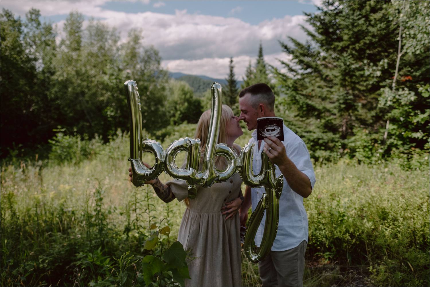 New Hampshire White Mountains Pregnancy announcement - Jemima
