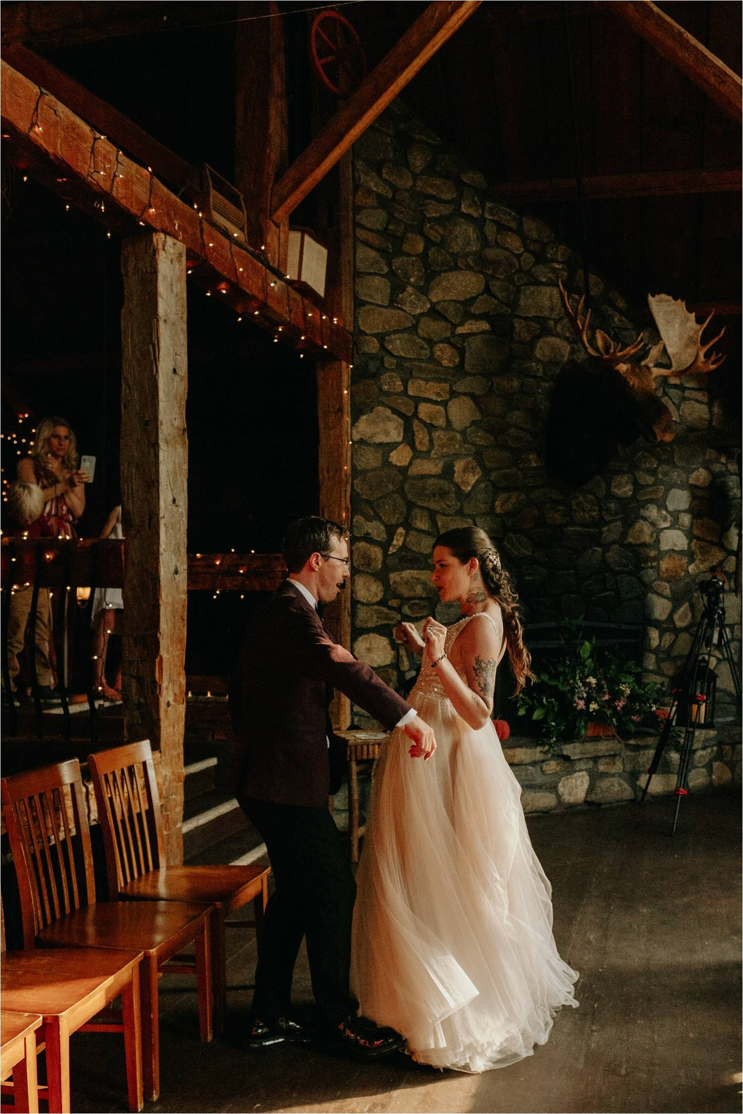 First Dance Wedding Reception at Whitney's Inn White Mountains New Hampshire - Jemima Richards - Jemima Richards
