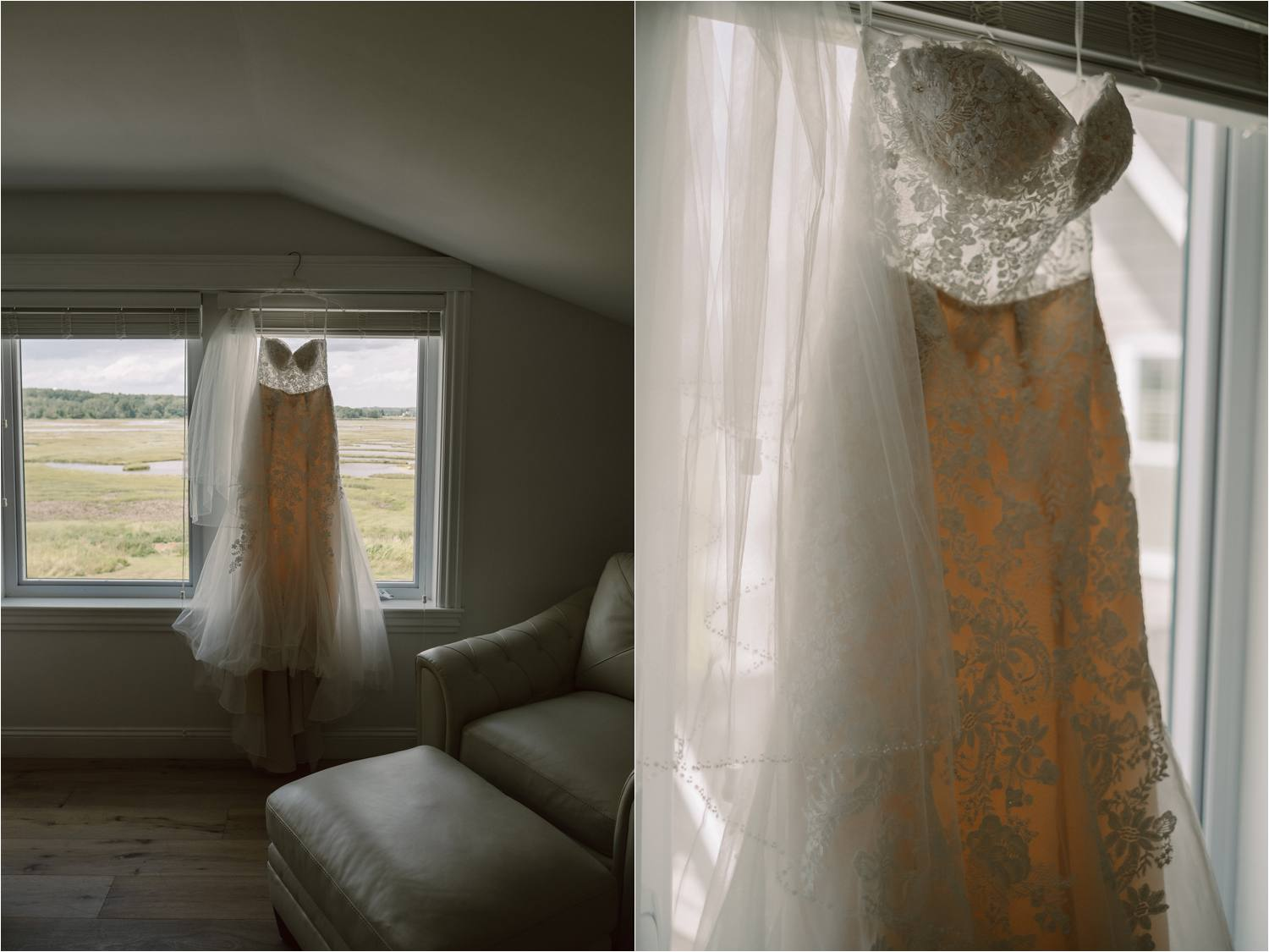 Intimate Pine Point Maine Elopement During a Summer Storm - Jemima Richards