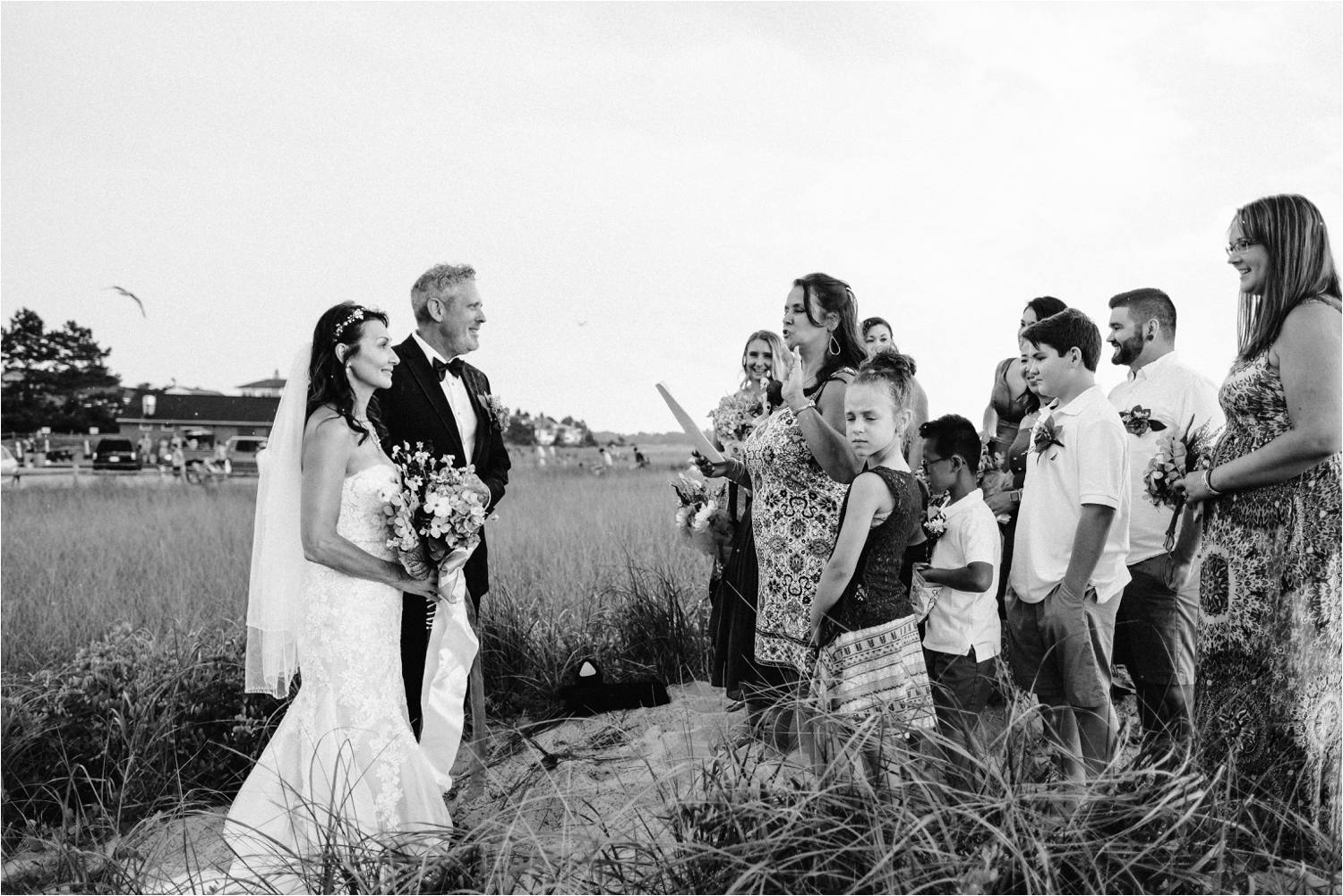 Intimate Pine Point Maine Beach Elopement During a Summer Storm - Jemima Richards
