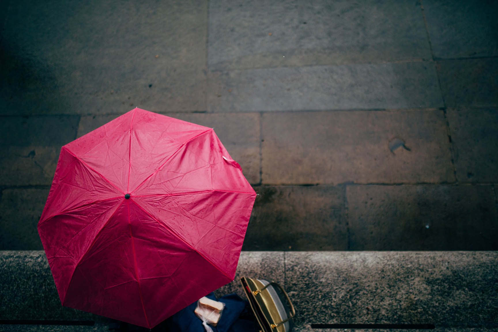 Sarnies in the rain by Me & I Photography