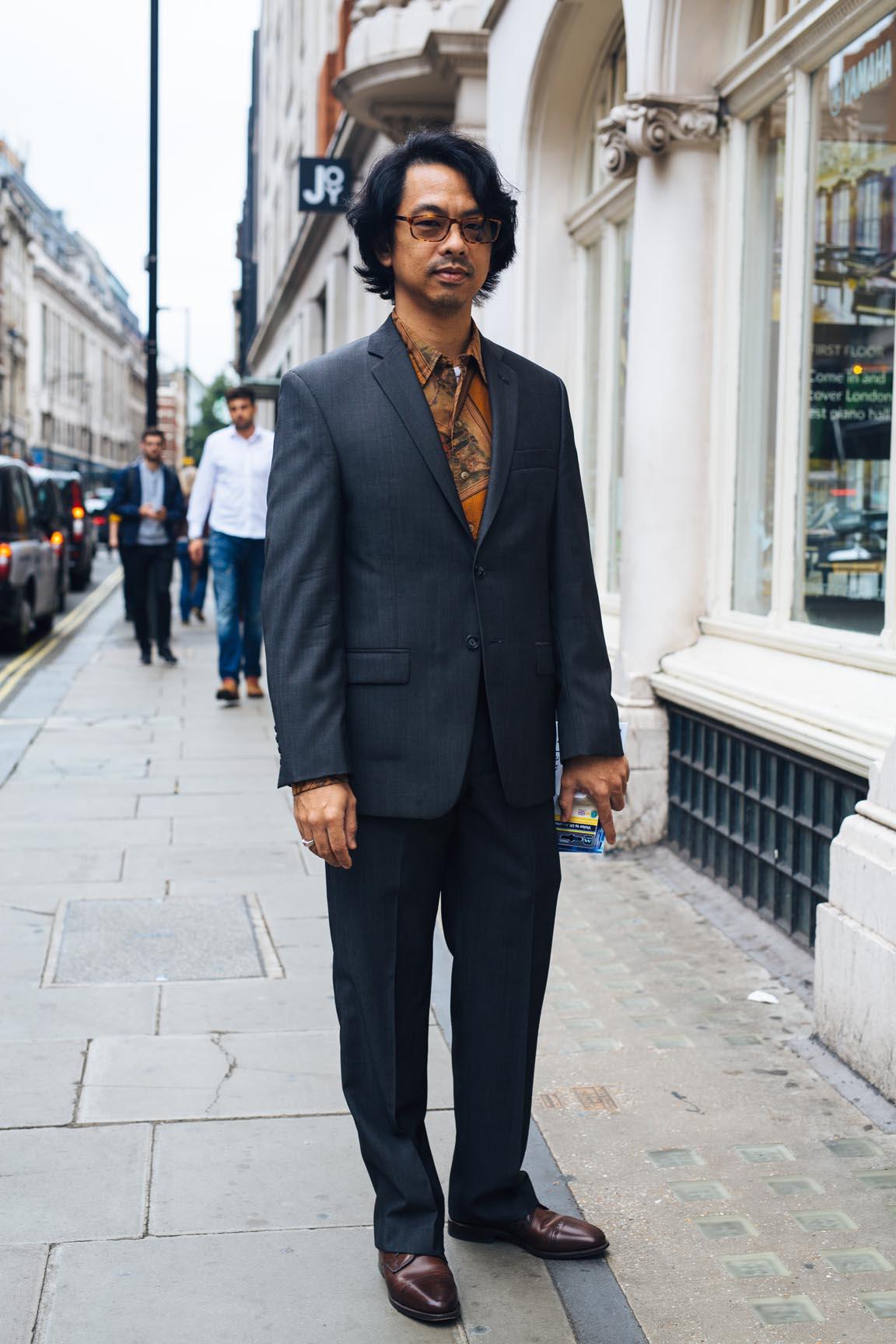 London Street Portrait 4