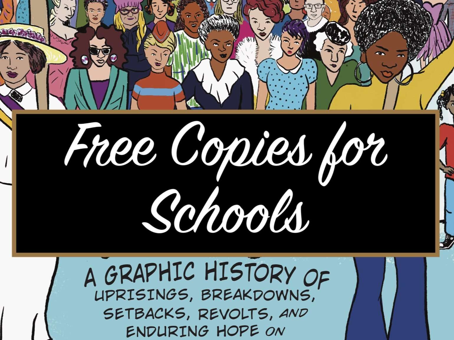 Now offering a limited number of free copies of    SHE THE PEOPLE    for schools via    Etsy   .