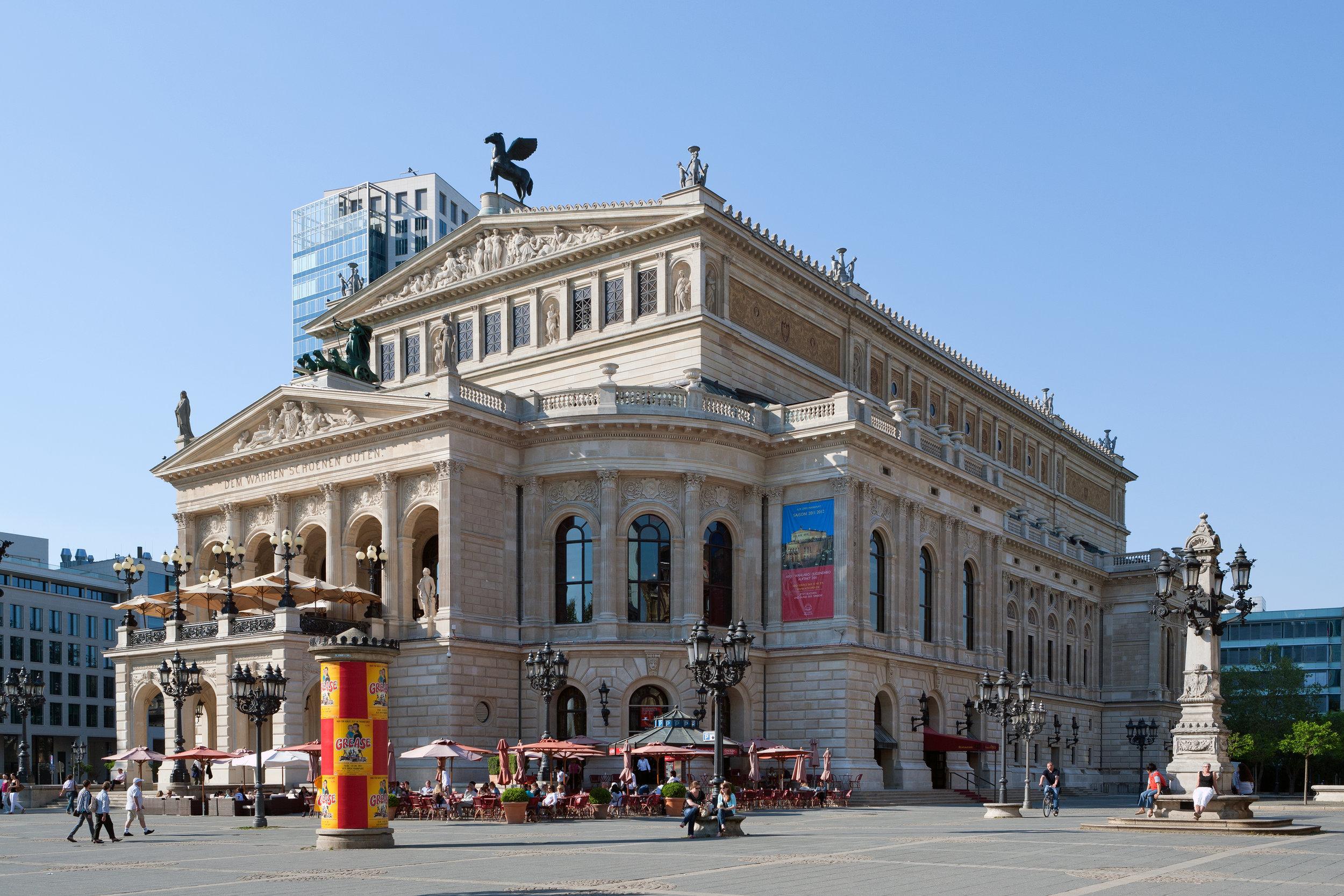 ALTE OPER in Frankfurt (Foto: Roland Meinecke,  CC BY-NC-ND 3.0 )
