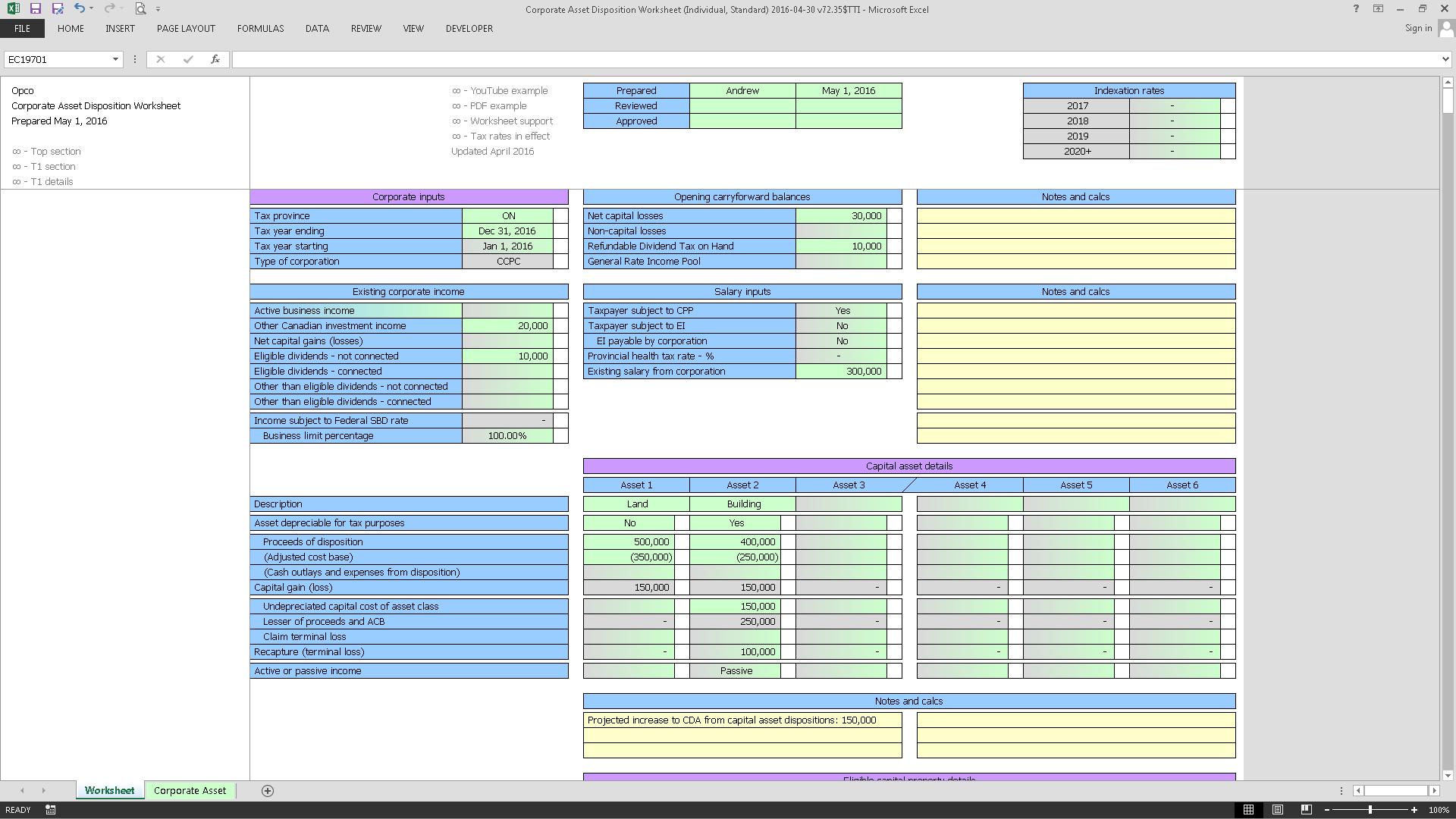 Corporate Asset Disposition Worksheet (Individual, Standard) 2016-04-30 v72.35$TTI_Cover.png